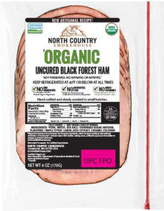 Ham, Sliced Organic Black Forest (6oz)