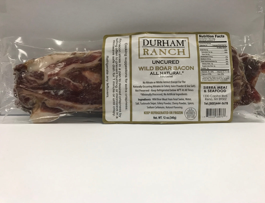 Bacon, Boar (12oz)