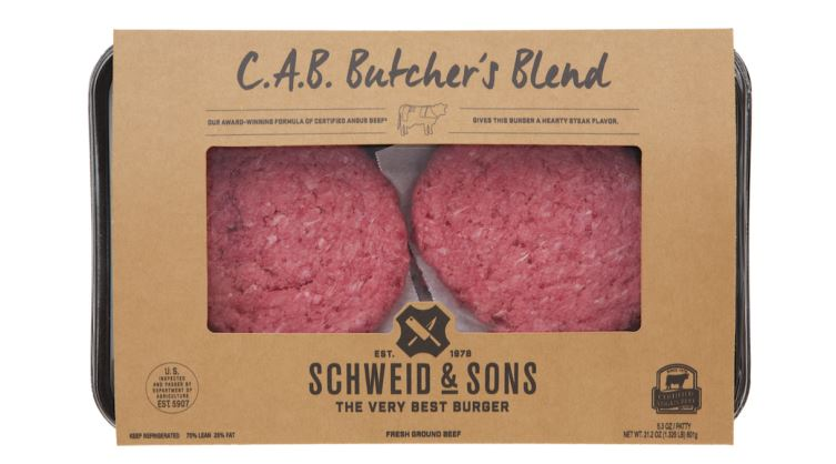 Beef, Butcher's Blend Patties (CAB) (4-pack | 5.3oz each) - FROZEN