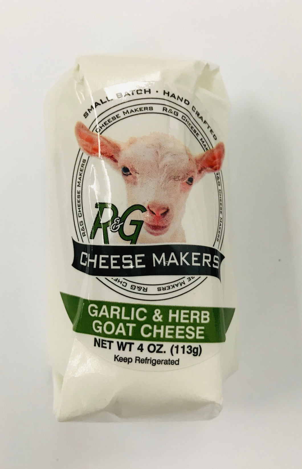 Chèvre, Garlic & Herb (4oz)
