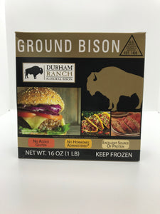 Bison, Ground (1lb)
