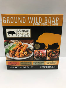 Boar, Ground (1lb)