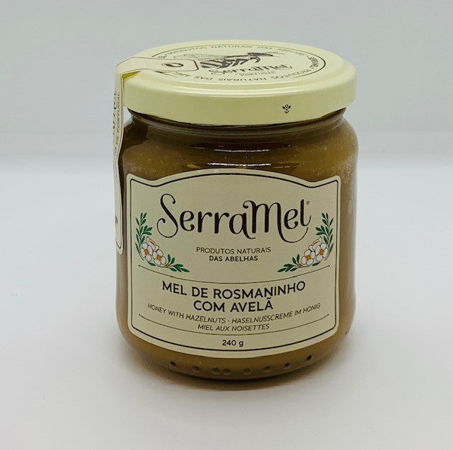 Honey, Spread with Wild Lavender and Hazelnuts (240g)