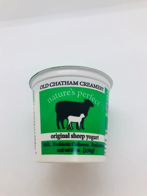 Yogurt, Plain Sheep's Milk (6oz)
