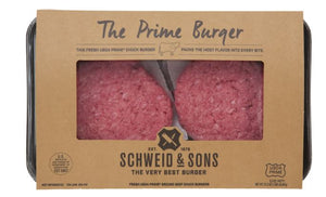 Beef, Prime Burger Patties (4-pack | 5.3oz each)