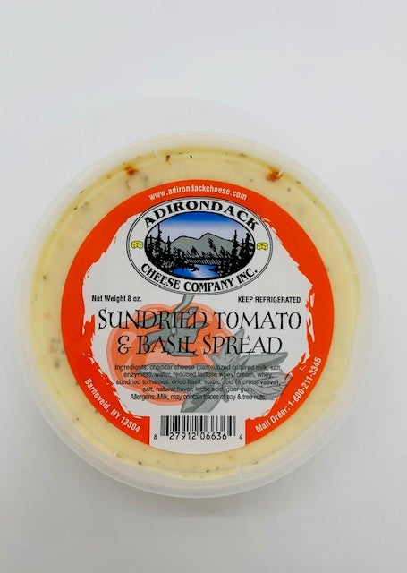 Cheese Spread, Sundried Tomato & Basil (8oz)