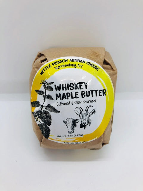 Butter, Whiskey Maple (8oz)