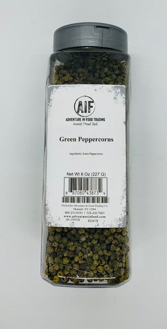 Peppercorns, Green  (8oz)