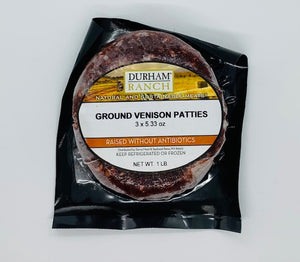 Venison, Burger Patties (3-pack | 5.33oz each)