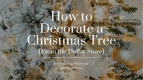 Christmas Tree Decorating Workshop (Pre-Recorded)