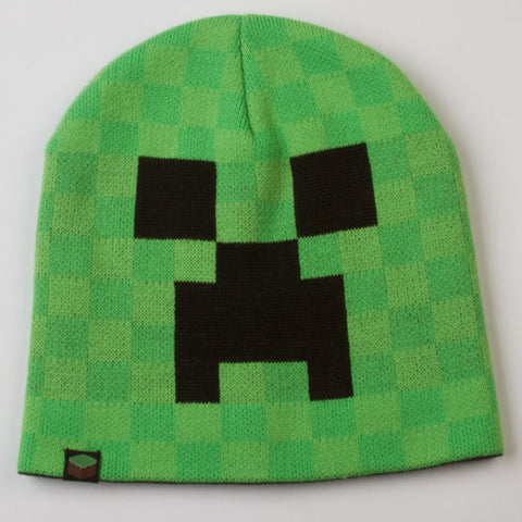 Minecraft Creeper Face Beanie