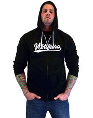 Notifuro Shodo Signature Zip Hoodie - Black