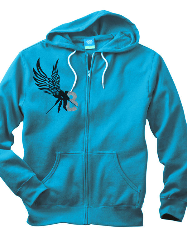 Boss Logic - LGX1 Zip Hoodie LE (Australian Version) - Turquoise