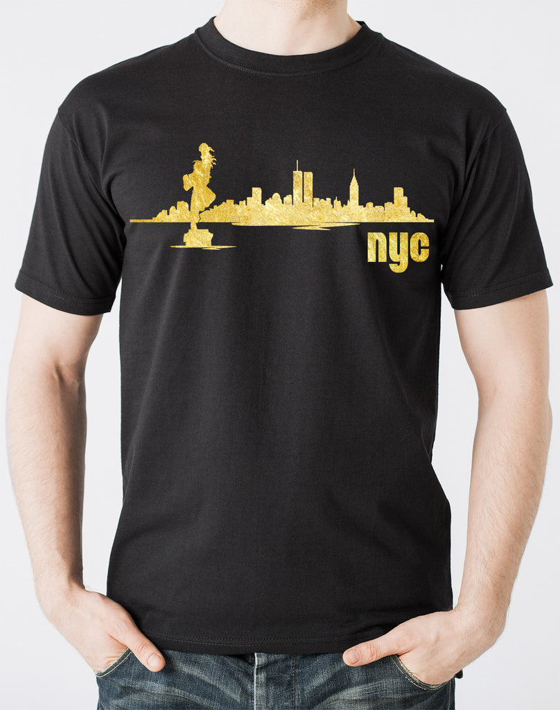 Limited Edition Notifuro King of NYC Gold Shirt - Black