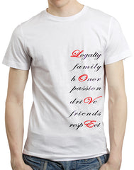 Notifuro Philosophy of Life & Love Shirt (LI Joe Series) - White