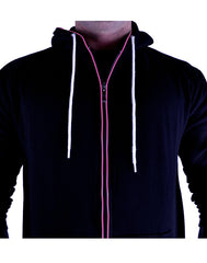 Glow in the Dark Light Up Hoodie - Majin (Buu) Pink