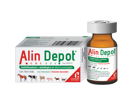 Alin Depot Inyectable Frasco ámpula con 6 ml