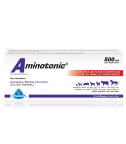 Aminotonic Frasco con 500 ml