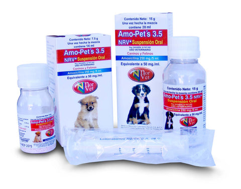 Amoxi-Pets NRV Suspension Oral 14 ml