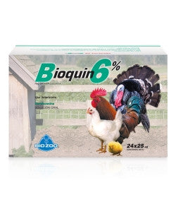 Bioquin Oral 6%  Frasco de 25 ml.
