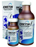 Emetin Inyectable - Frasco con 2 ml.