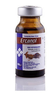 Ercanol Inyectable Frasco con 100 ml