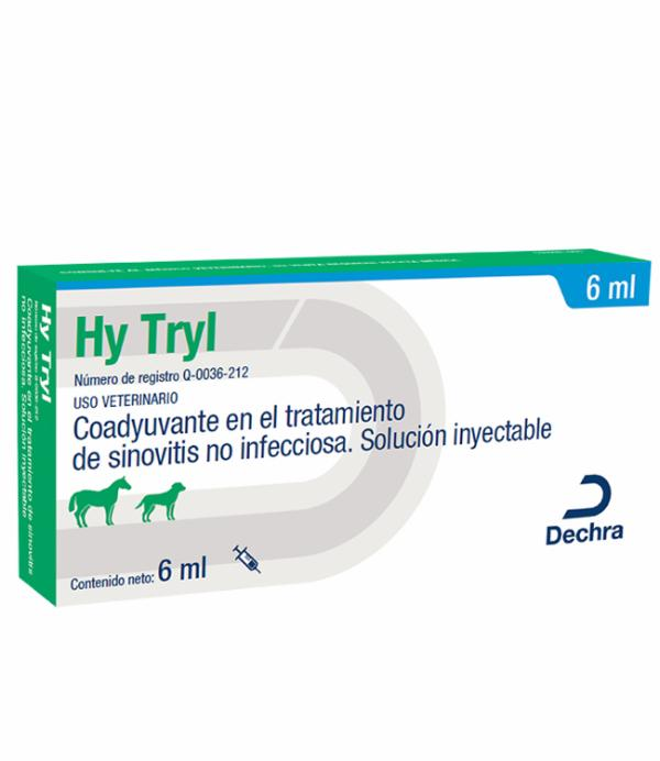 Hytryl Inyectable 10 mg frasco con 6 ml