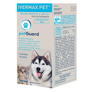 Ivermax Pet 0.25% Frasco con 50 ml