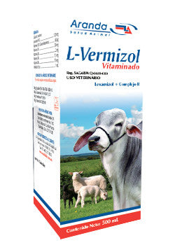 L-Vermizol Vitaminado Frasco con 500 ml
