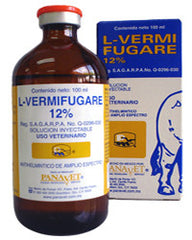 L-Vermifugare 12% Inyectable 100 ml