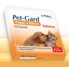 Pet Gard PuppyKitten - 8 Tabletas