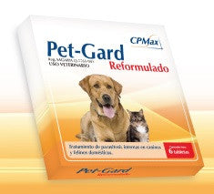Pet Gard Reformulado - 6 Tabletas