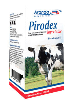 Pirodex Inyectable Frasco de 100 ml