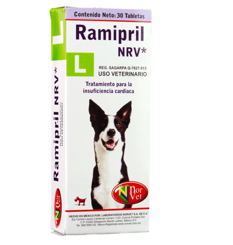 Ramipril NRV L  30 tabletas ( 2.5 mg )