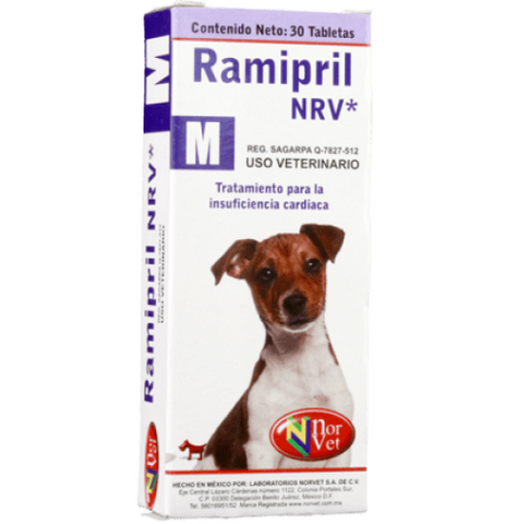Ramipril NRV M  30 tabletas ( 1.25 mg )