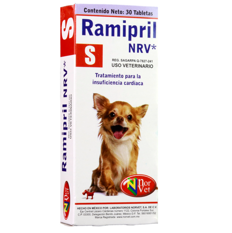 Ramipril NRV S  30 tabletas ( 0.625 mg )