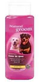 Shampoo Natural Groom Two in one 400 ml
