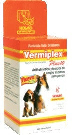 Vermiplex Plus 10 kg Exhibidor 24 Tabletas
