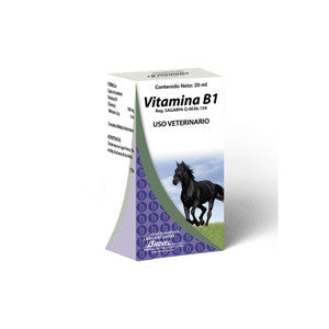 Vitamina B1 Frasco ámpula 20 ml