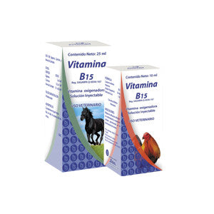 Vitamina B15 Frasco ámpula 100 ml