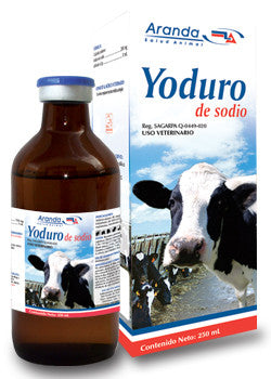 Yoduro de Sodio 250 ml