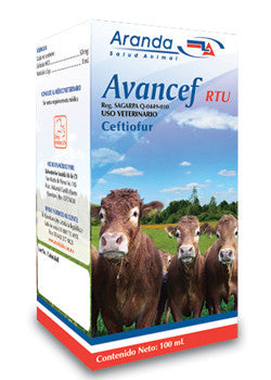 Avancef RTU Inyectable Frasco con 250 ml