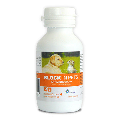 Block In Pets Frasco con 100 ml