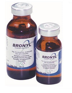 Bronyl Inyectable - Frasco con 10 ml.