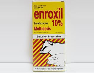 Enroxil 10% inyectable 250 ml.