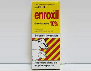 Enroxil 10% inyectable 25 ml.
