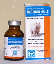 Parfloxacina 10% LS Inyectable Frasco con 20 ml