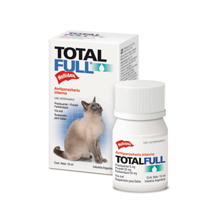 Total Full Gatos Suspensión Oral 15 mL