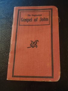 GOSPEL OF JOHN AND THE HELL FIRE CLUB