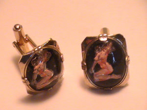 Satyriasis,using the levitation process-- CUFFLINKS